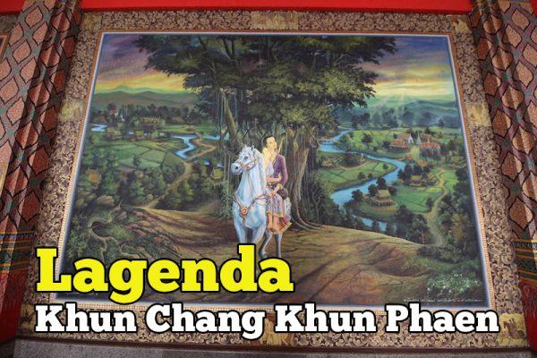 Cerita Khun Chang Khun Phaen Jadi Mural Dinding Wat Palelai
