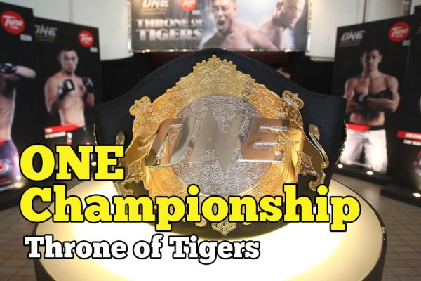 ONE Championship Throne of Tigers Di Stadium Negara