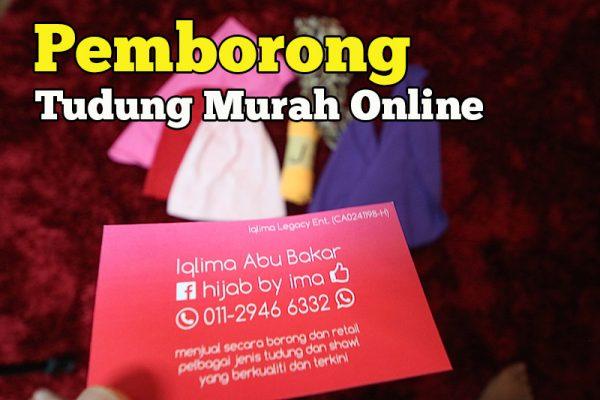 Pemborong Tudung Murah Online Jenama Hijab By Ima