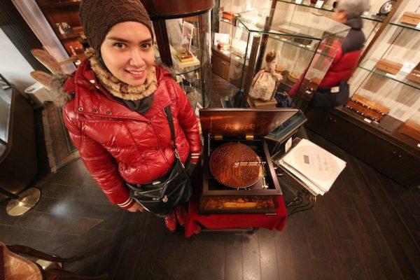 Kyoto Arashiyama Orgel Museum Ada Music Box