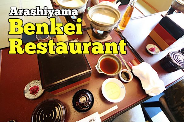 Arashiyama Benkei Restaurant And Rooms Ada Menu Friendly Muslim