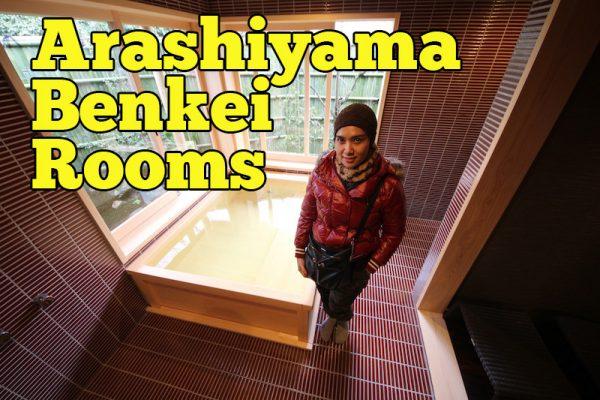 Arashiyama Benkei Rooms Kyoto Ryokan Penginapan Mewah Cara Jepun