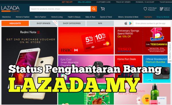 Berapa Lama Tempoh Lazada Malaysia Hantar Barang Belian Online