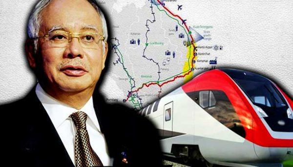 Projek ECRL Kuala Lumpur Kelantan Jadikan Perjalanan 4 Jam Sahaja