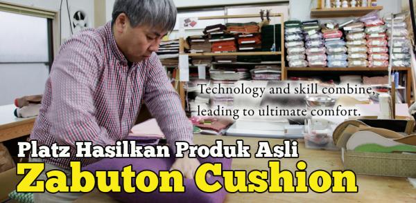Zabuton Cushion Japan Produk Tradisional Asli Di Platz Arashiyama
