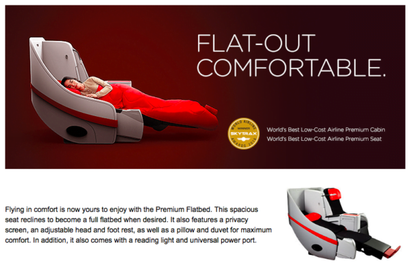 Promosi Premium Flatbed airasia