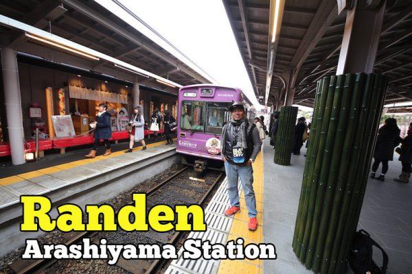 Randen Arashiyama Station Tram Unik Melalui Randen Keifuku Line