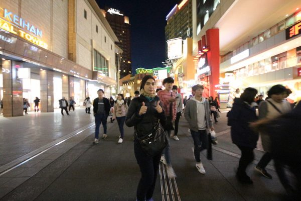 universal studios japan waktu malam
