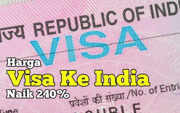 Pelancong Malaysia Perlu Bayar RM457 Harga Visa Ke India