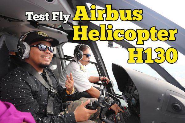 Test Fly Airbus Helicopter H130 Terbang Di Ruang Udara Kuala Lumpur