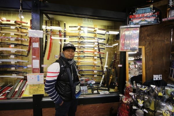 Harga Pedang Samurai Di Tempozan Marketplace