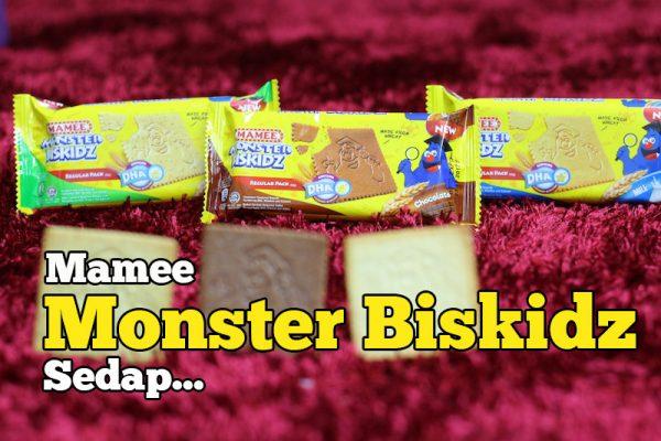 Produk Halal Terbaru Mamee Monster Biskidz Yang Sedap