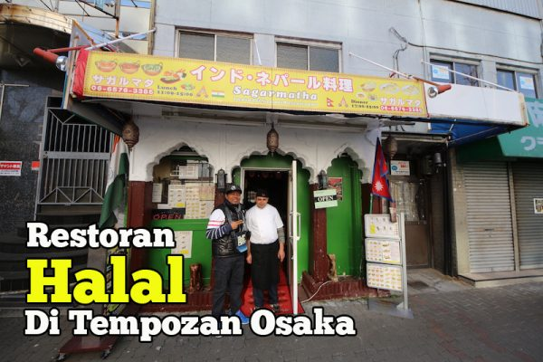 Sagarmatha Restoran Halal Di Tempozan Osaka Jepun