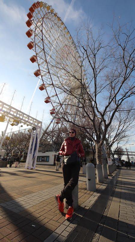 Tempat Menarik Di Osaka Tempozan Ferris Wheel