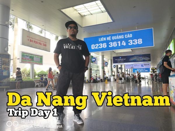 Airport Da Nang Vietnam Trip