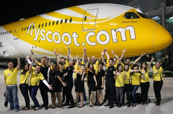 Scoot Airlines Boeing 787-8 Mous-Scoot-Ka