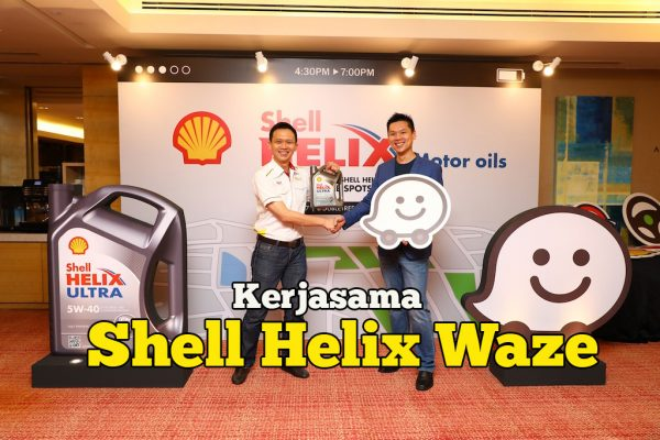 Shell Helix Dan Waze Lancar Accident Prone Spots Alerts
