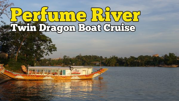 Twin Dragon Boat Perfume River Cruise Di Hue Vietnam