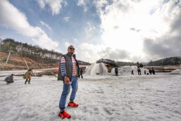 vAlpensia Ski Resort Winter Olympic 2018 Pyeongchang
