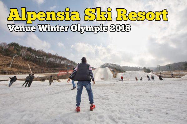 Alpensia Ski Resort Winter Olympic 2018 Pyeongchang