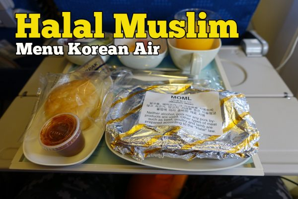 Halal Muslim Menu Korean Air