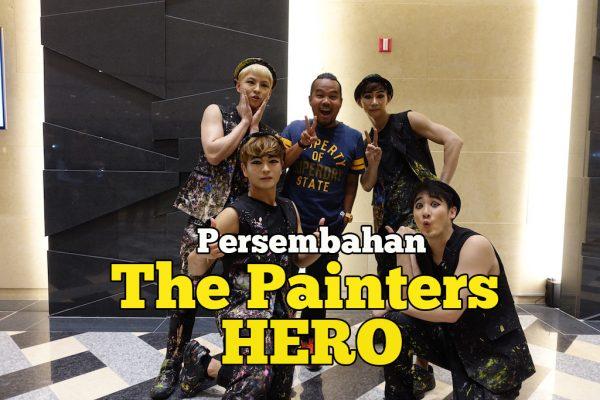 Persembahan The Painters HERO Korea Gabungan Lukisan Muzik Komedi