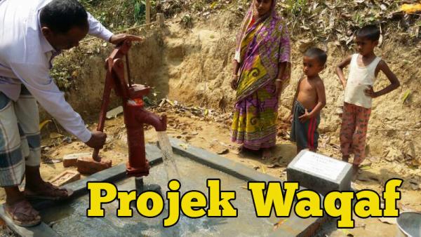 Projek Waqaf Telekung Dan Waqaf Perigi Cara Nak Bantu Orang Muslim