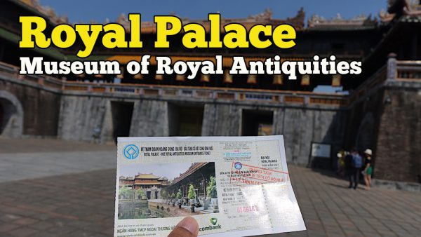 Royal Palace Museum of Royal Antiquities Di Hue Vietnam
