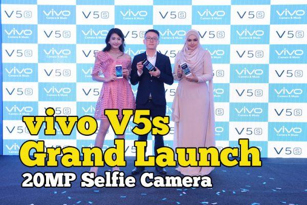 vivo V5s Grand Launch Malaysia 20MP Selfie Camera