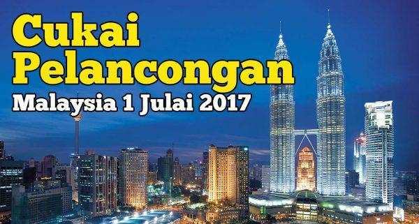 Kesan Baik Buruk Cukai Pelancongan Malaysia 1 Julai 2017