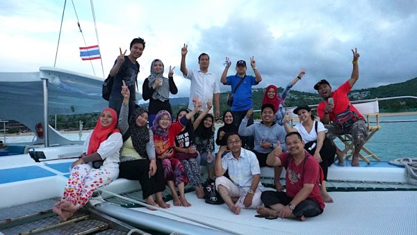 Kia Ora Catamaran di Koh Samui