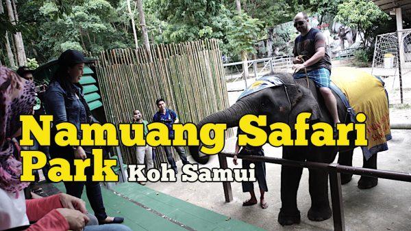 Namuang Safari Park Samui Ada Aktiviti Santai Yang Menarik