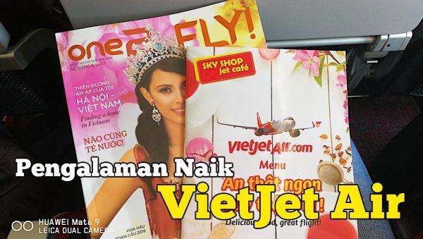 Pengalaman Naik Flight VietJet Air Dari Da Nang Ke Ho Chi Minh