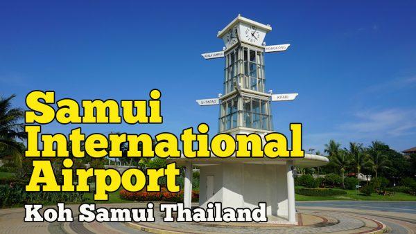 Samui International Airport Satu Satunya Lapangan Terbang Di Koh Samui