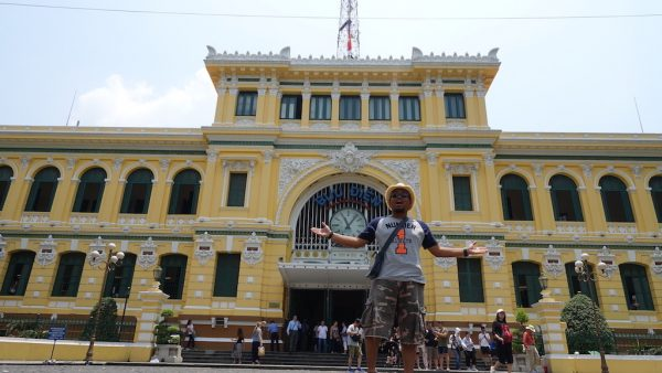 Saigon Central Post Office Di Ho Chi Minh