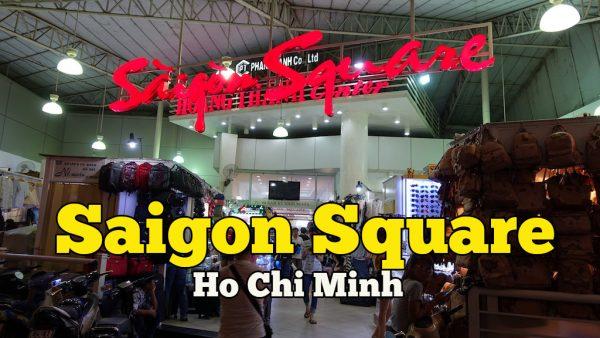 Tempat Shopping Di Vietnam Saigon Square Ho Chi Minh