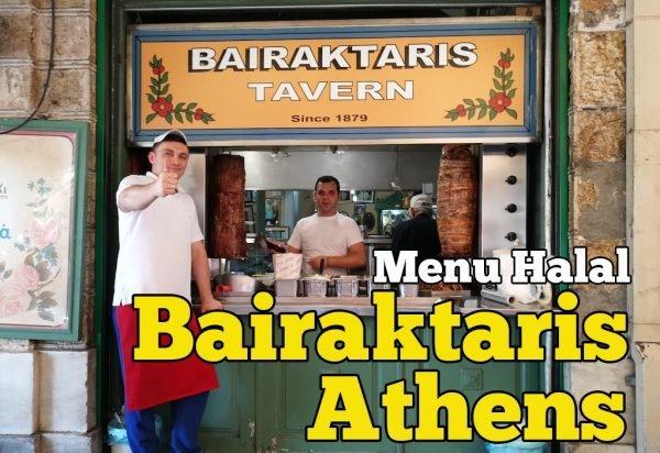 Restoran Bairaktaris Athens Ada Menu Halal Tradisional Greek