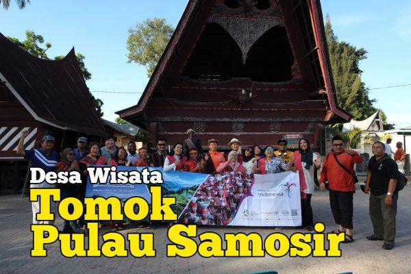 Desa Wisata Tomok Pulau Samosir Kampung Batak Tradisional