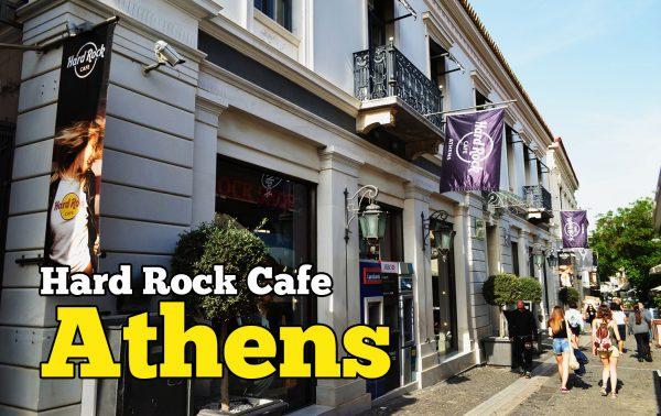 Hard Rock Cafe Athens Ada Jual Koleksi T-Shirt Murah
