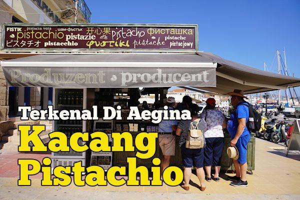 Produk Tempatan Greece Kacang Pistachio Terkenal Di Aegina