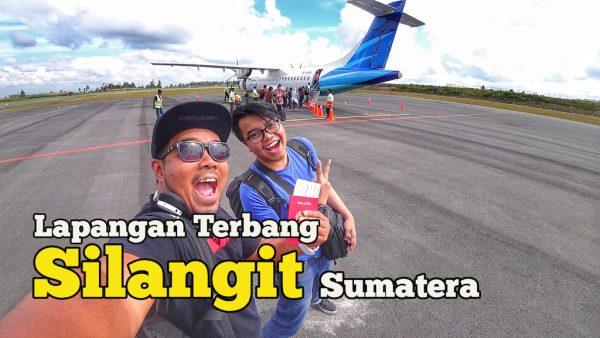 Pengalaman Naik Garuda Indonesia Airlines Di Lapangan Terbang Silangit Sumatera