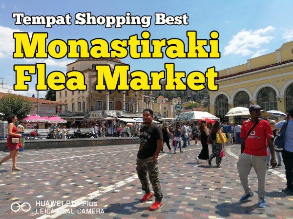 Monastiraki Flea Market Athens Market Bazaar Tempat Shopping Best