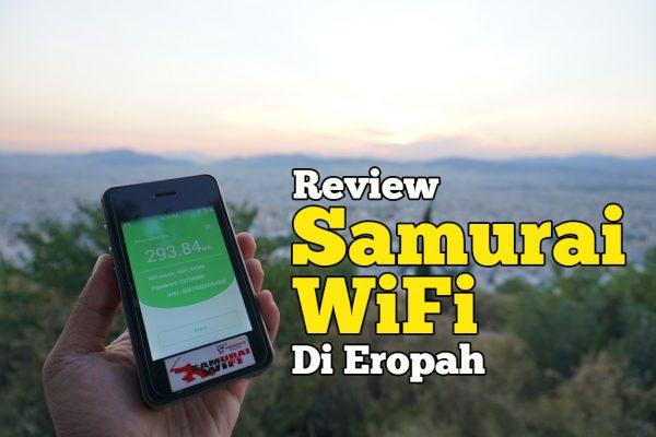 Review Samurai WiFi Pakej Eropah Selama 7 Hari Di Athens Greece