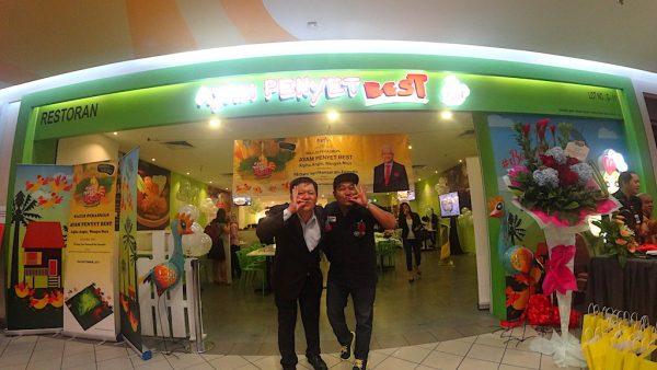 Grand Launch Ayam Penyet Best