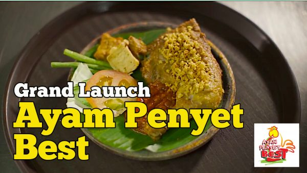 Grand Launch Ayam Penyet Best Alpha Angle Slogan #BestSekali4All