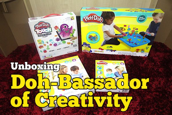 Unboxing Mainan Playdoh Doh-Bassador of Creativity Contest