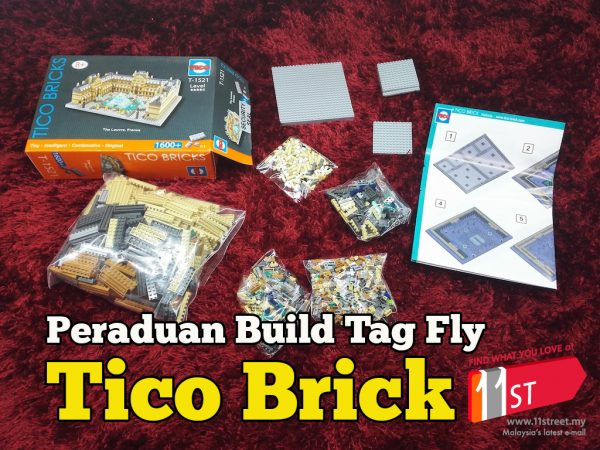 Product Review Tico Malaysia Build Tag Fly Tico 11StreetMy Contest