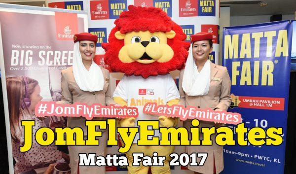 Jom Fly Emirates Official Airline Matta Fair 2017 Di PWTC Kuala Lumpur