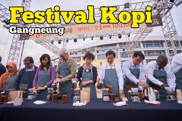Gangneung Coffee Festival Serlahkan Budaya Minum Kopi Cara Korea