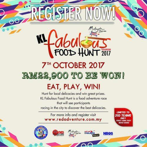 KL Fabulous Food Hunt 2017 Event Terokai Malaysia Dengan Makanan